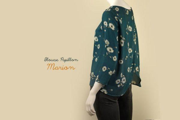 La Morue : blouse papillon Marion