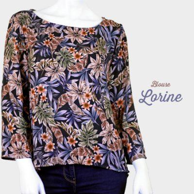 La Morue-vêtements féminins-blouse Lorine