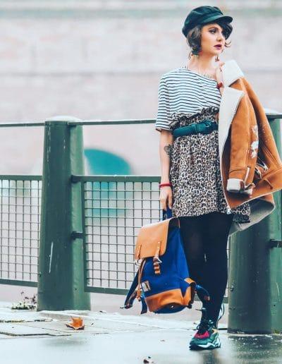La Morue : vêtements féminins / Jupe léopard Chacha