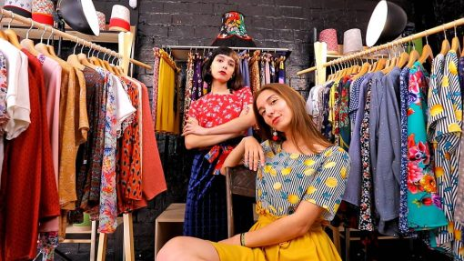 La Morue : vêtements féminins bretons / blouse Citrus