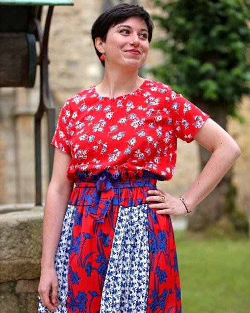 La Morue : vêtements féminins bretons / jupe Sophie