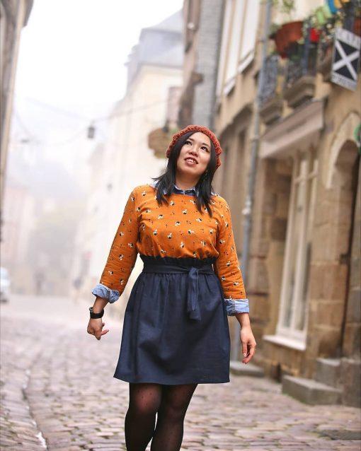 La Morue : vêtements féminins bretons / blouse Aurélia