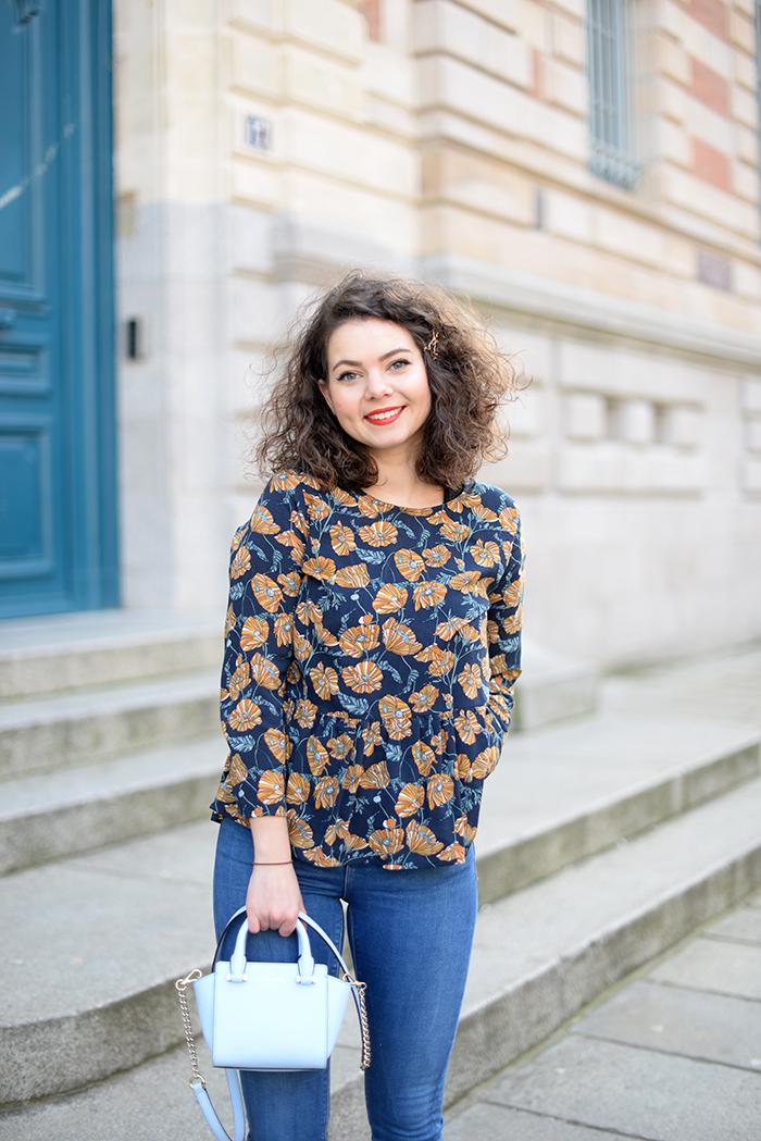 La Morue : blouse froufrou Gisemonde