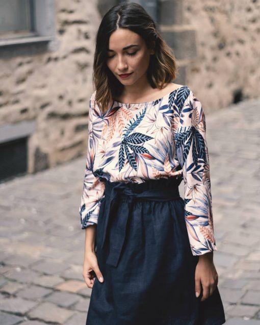 La Morue : vêtements féminins bretons / blouse Alexia