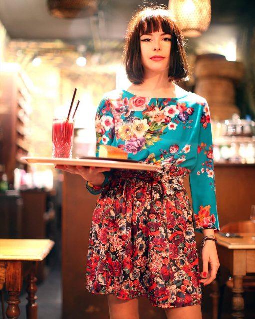 La Morue : vêtements féminins bretons / blouse Parfait