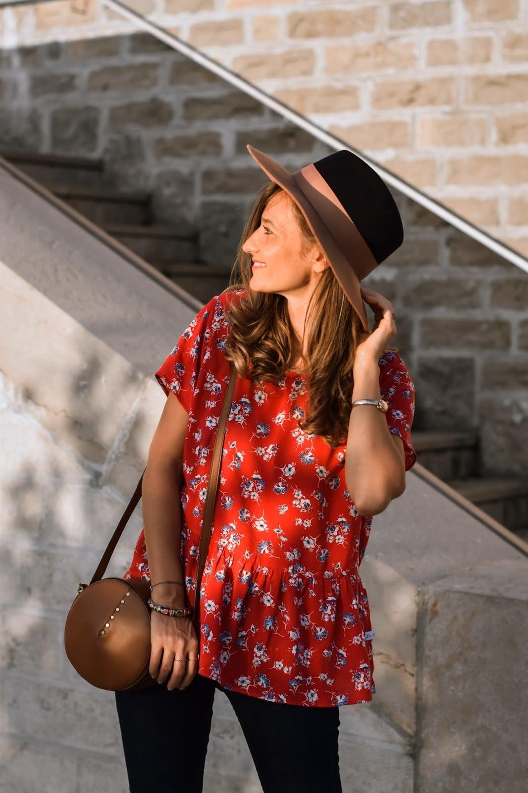 La Morue : blouse froufrou Florence