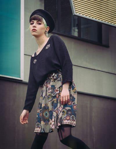 La Morue : vêtements féminins / jupe paperbag ethnique Piper
