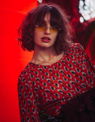 La Morue : vêtements féminins/blouse Pavle et jupe Pio