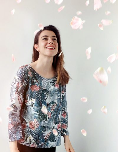 La Morue : vetements feminins/blouse fluide Axele