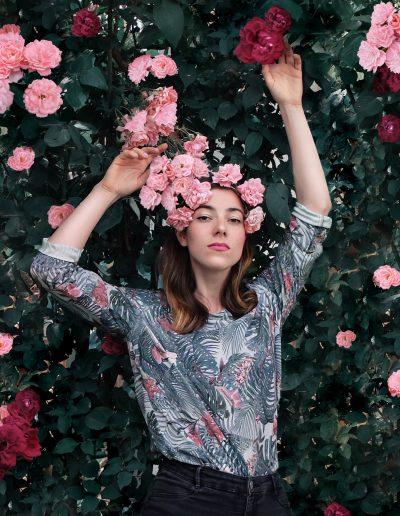 La Morue : vêtements féminins blouse fluide Axele
