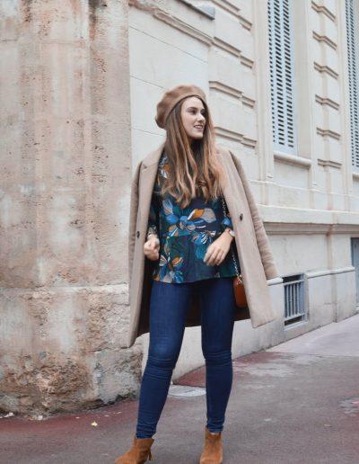 La Morue vêtements féminins : blouse froufrou Camille