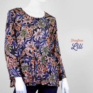 La Morue-vêtements féminins-blouse froufou Lili