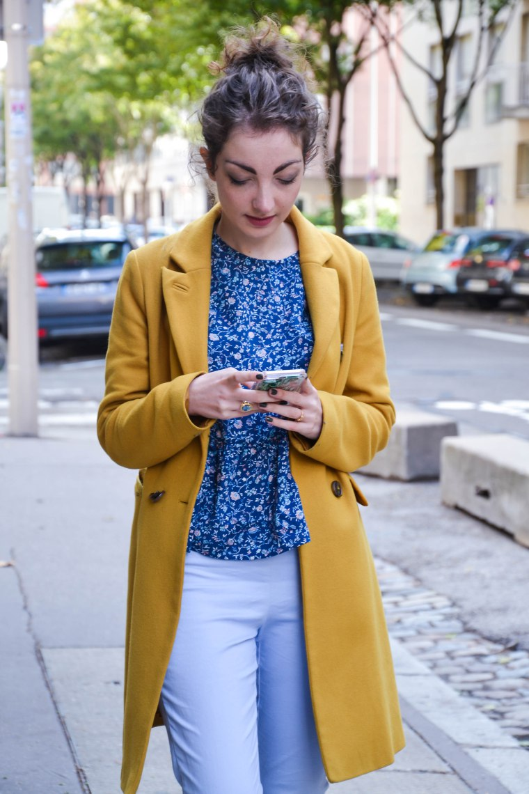 La Morue : blouse froufrou Godeline