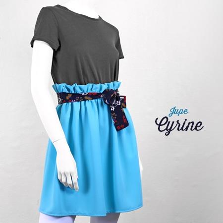 La Morue : vêtements féminins bretons / jupe Cyrine