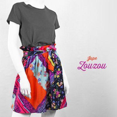 La Morue : vêtements féminins bretons / Jupe Zouzou