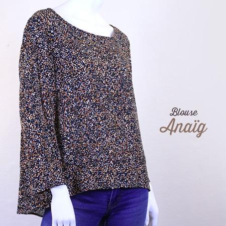 La Morue : vêtements féminins bretons / blouse Anaig