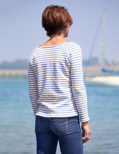 La Morue : vêtements féminins / pull marinière Mouette
