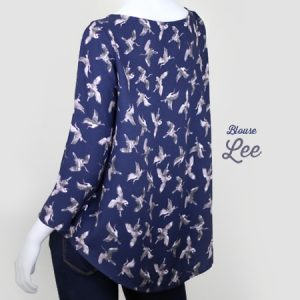 La Morue : blouse fluide Lee