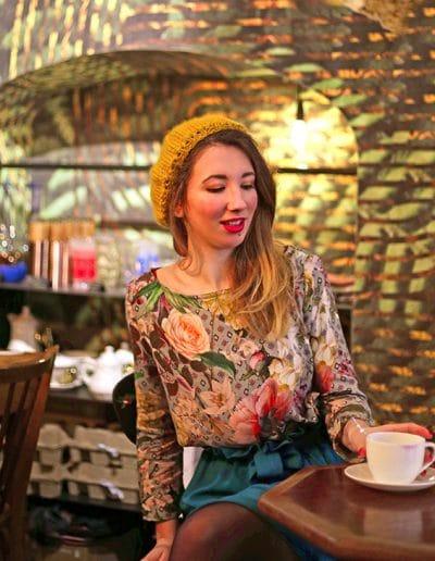La Morue : vêtements féminins / blouse fleurie Agathe