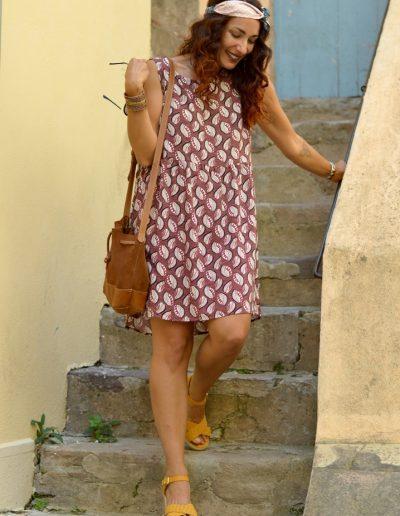 La Morue : vêtements féminins/robe wax Maena